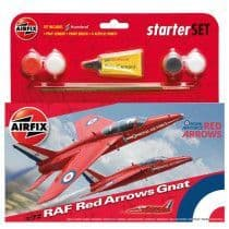 RAF Red Arrows Gnat Starter Set (1:72 Scale)